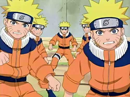 Galeria: Naruto e sua turma